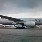 O novo Boeing 777-300ER da American Airlines de pertinho