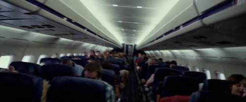 """Cabine de Passageiros do filme """"O Voo"""""""