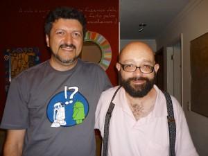 Eu e o Goytá no dia de seu aniversário em 2012.