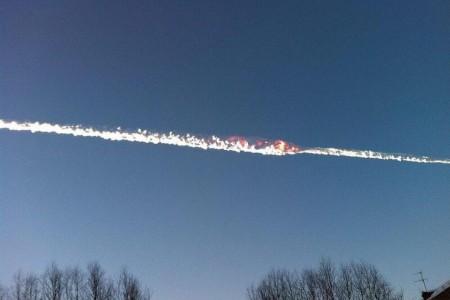 Meteorito e Sonic Boom?