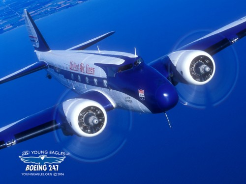 Boeing 247 da United Airlines