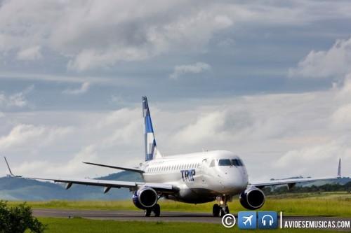Foto é © TRIP Linhas Aéreas