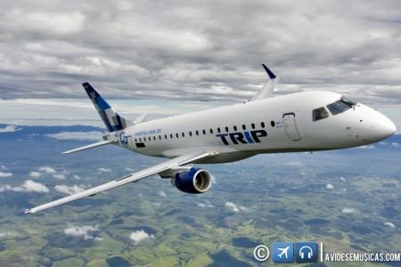 Embraer E-175 na Trip #história