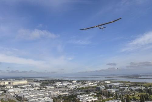 Solar Impulse em voo técnico
