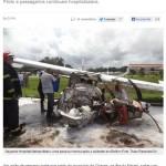 O acidente aéreo e a notícia #imprensa