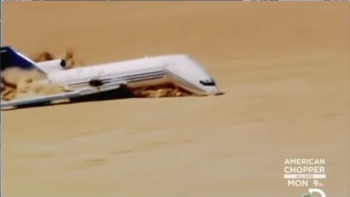 Imagem do Documentário Discovery Curiosity - Plane Crash