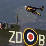Jetman aquecendo para Oshkosh 2013 #EAA2013