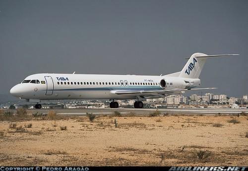 Fokker 100 TABA