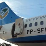 Visita de um leitor ao PP-SFI, Boeing 737 da VASP arrematado em leilão
