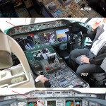 O cockpit do Airbus A350 #video