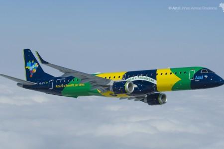 Os E-Jets no Brasil #história