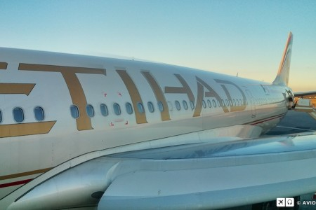 Primeiro voo da Etihad para São Paulo