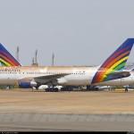 Boeings 767-200 da Transbrasil vão a leilão em Brasília