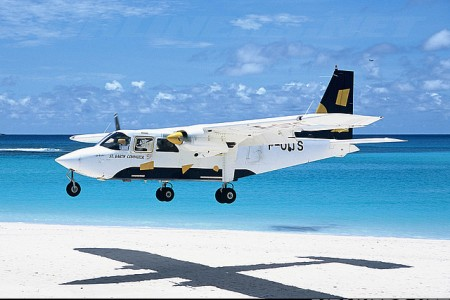 Britten-Norman Islander – um jipe voador