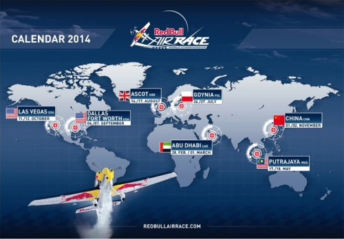 Red Bull Air Race 2014 Schedule