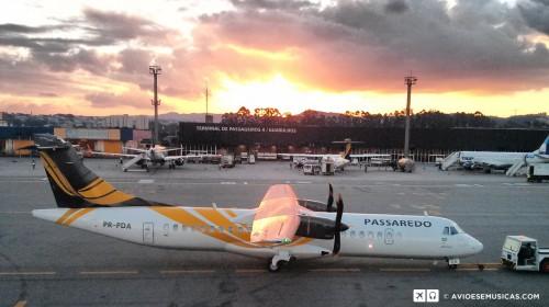 ATR-72 Passaredo - Foto do © Lito em Guarulhos