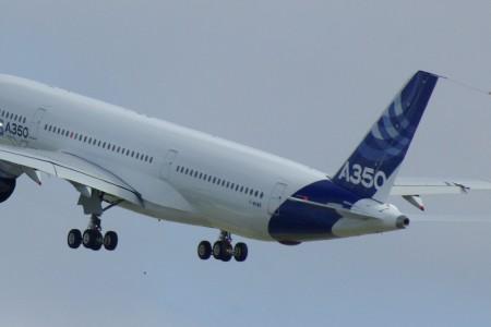 O Airbus A350 de perto #video