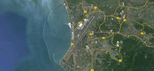 Aeroporto alternativo que faz parte da teoria de Goodfellow