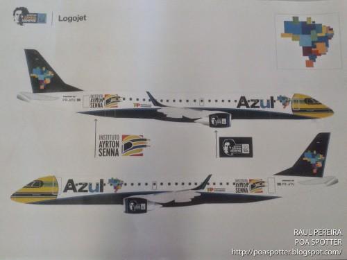 Ayrton Senna - Azul Linhas Aéreas