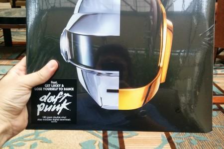 Daft Punk, Vinil, Unboxing