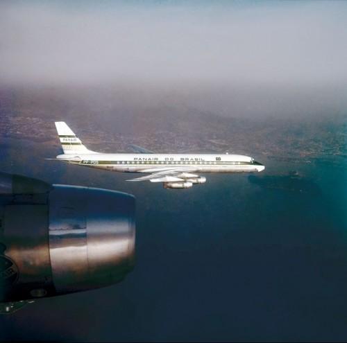 DC-8 Foto de Arquivo Panair do Brasil