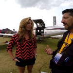 Exclusiva com Amelia Rose Earhart em Oshkosh #OSH14