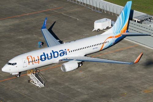 #7 Fly Dubai Boeing 737-800 por Bernie Leighton