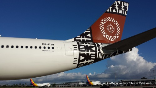 #2: Fiji Airways Airbus A330-300 por Jason Rabinowitz