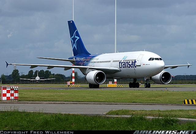 Airbus A310-300 - Air Transat. Foto: Fred Willemsen