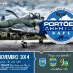 Base aérea de Florianópolis com Portões abertos no dia 09 de novembro.