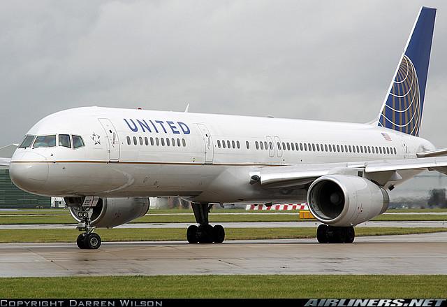 Boeing 757-200 -United Airlines. Foto: Darren Wilson