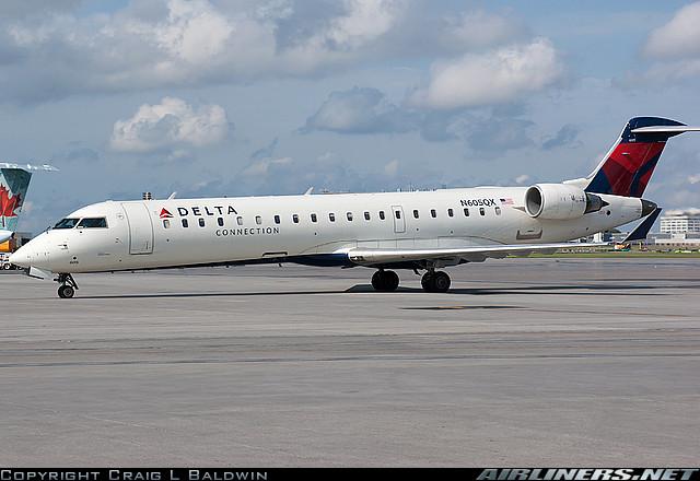 Bombardier CRJ-701 - Delta Connection (ExpressJet Airlines). Foto: Craig L Baldwin