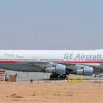 A resposta ao Quiz do 747 da GE com motores diferentes