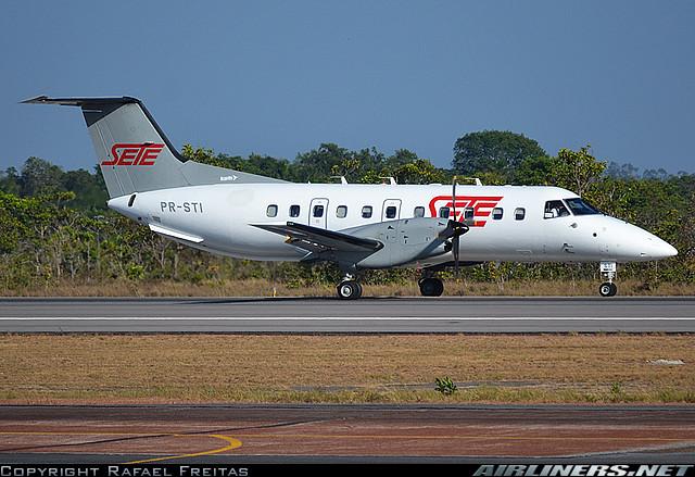 Embraer EMB  120 - SETE Linhas Aereas. Foto: Rafael Freitas