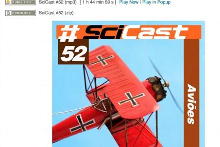 Um podcast nas alturas #Scicastpodcast