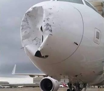 Granizo x Aviões