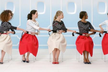 Vídeo de segurança elegante (chic) da Air France