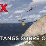 Voando em ala sobre o Santos Dumont no Rio de Janeiro #FSX #Video