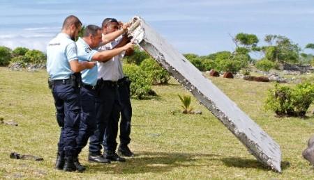 Sobre as peças encontradas nas Ilhas Reunião
