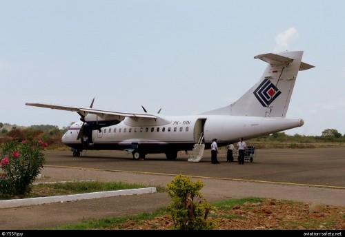 ATR-42 acidentado hoje