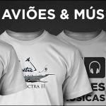 Derrapagens, Janelas, Pistas de Pouso, Reversores e Camisetas!