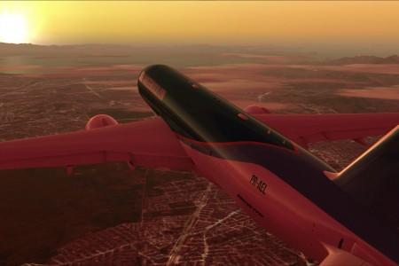 Que tal um repaint do PMDG 77F com as cores do Aviões e Músicas?