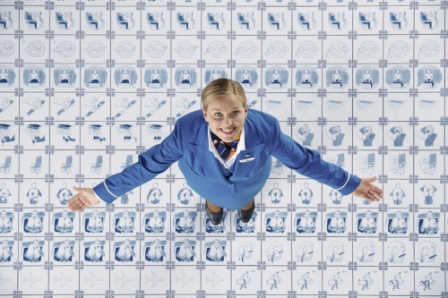 KLM making of inflight safety Film 1