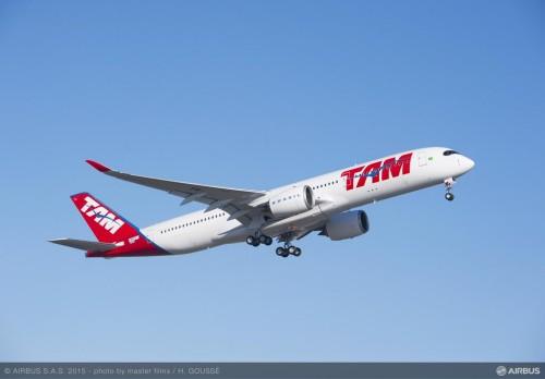 Primeiro voo do A350 - ©Airbus