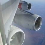 Um Boeing 747 com 5 motores – Assunto do dia.