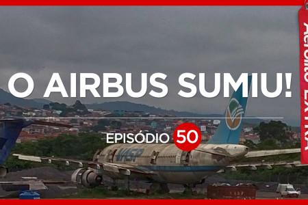 O avião que sumiu em Guarulhos, veja como foi  #Aerolito