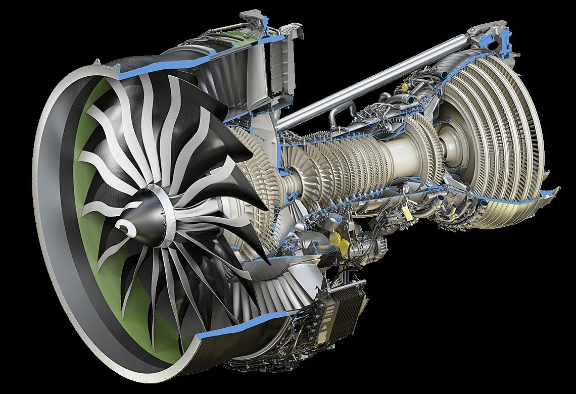 Um Motor Turbofan 233 Igual A Um Turbo 233 Lice Encapado