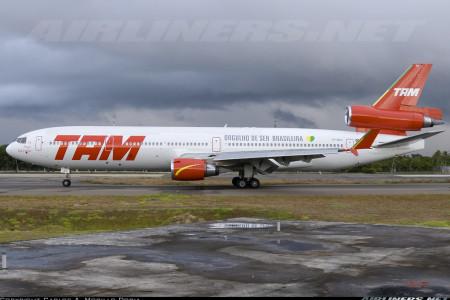 Por onde andariam os McDonnell Douglas MD11 da TAM?