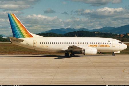 Por onde andariam os Boeing 737-300 da TRANSBRASIL?