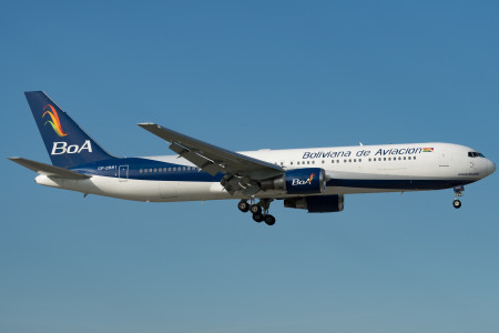 Panorama da Aviação Comercial – Bolívia